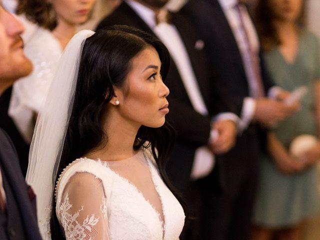 Le mariage de Maxime et Vanyung à Colombiers, Vienne 45
