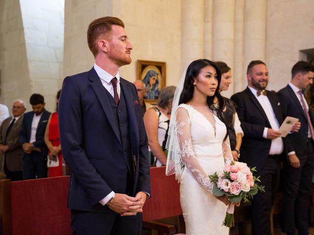 Le mariage de Maxime et Vanyung à Colombiers, Vienne 49