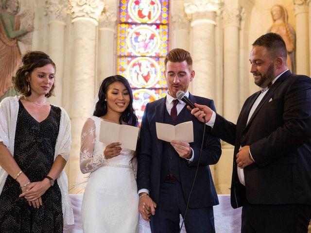 Le mariage de Maxime et Vanyung à Colombiers, Vienne 58