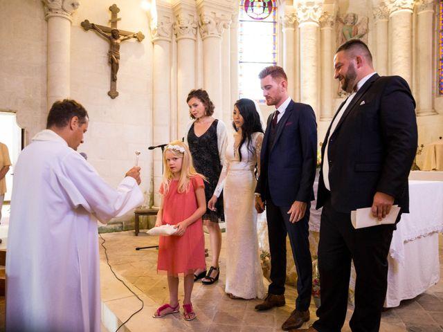 Le mariage de Maxime et Vanyung à Colombiers, Vienne 63
