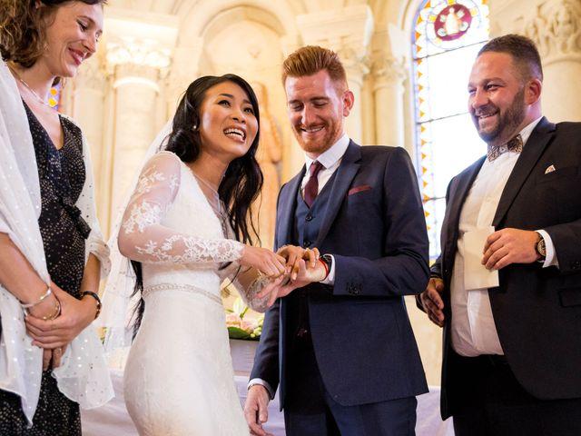 Le mariage de Maxime et Vanyung à Colombiers, Vienne 66