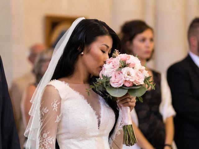Le mariage de Maxime et Vanyung à Colombiers, Vienne 69