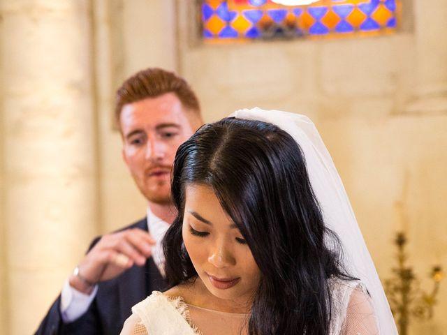 Le mariage de Maxime et Vanyung à Colombiers, Vienne 71