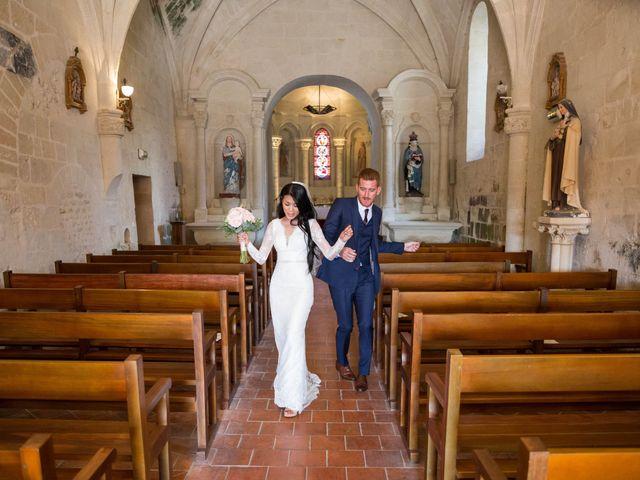 Le mariage de Maxime et Vanyung à Colombiers, Vienne 73