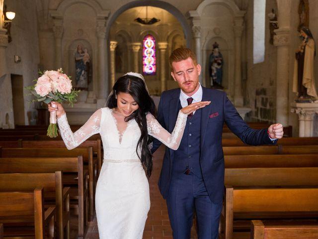 Le mariage de Maxime et Vanyung à Colombiers, Vienne 74