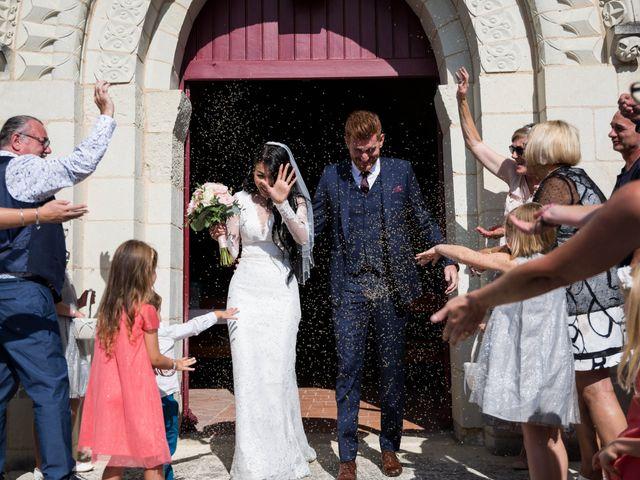 Le mariage de Maxime et Vanyung à Colombiers, Vienne 76