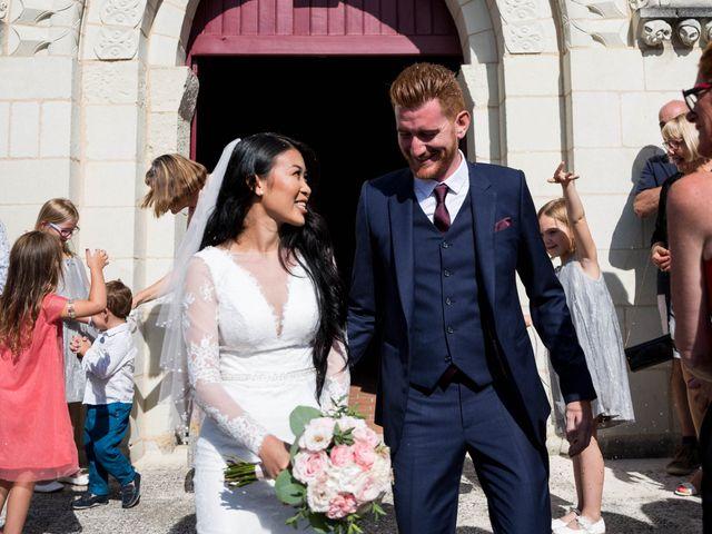 Le mariage de Maxime et Vanyung à Colombiers, Vienne 77