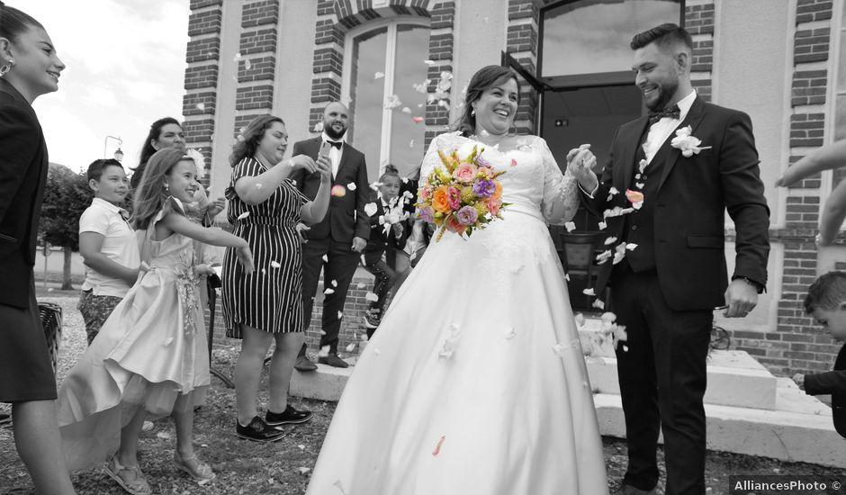 Le mariage de Benjamin et Ophélie à Mosles, Calvados