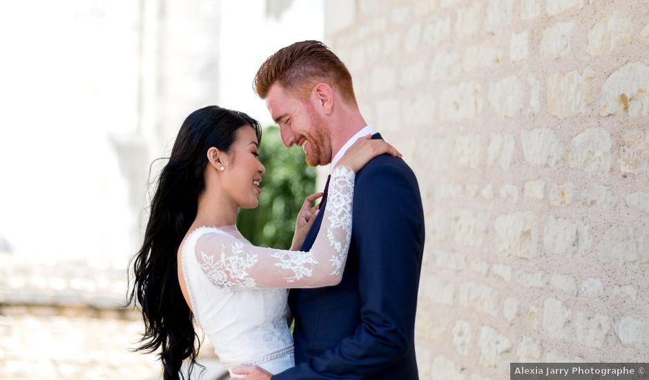 Le mariage de Maxime et Vanyung à Colombiers, Vienne