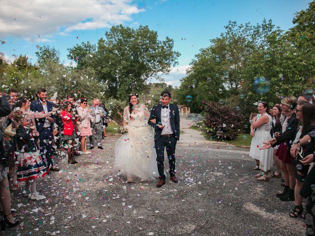 Le mariage de Daniel et Marion à Bagard, Gard 31