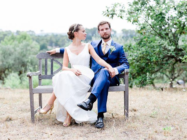 Le mariage de Hugo et Mathilde à Cotignac, Var 17