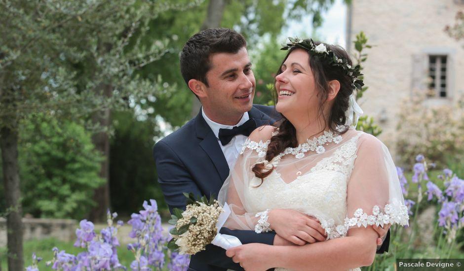 Le mariage de Daniel et Marion à Bagard, Gard
