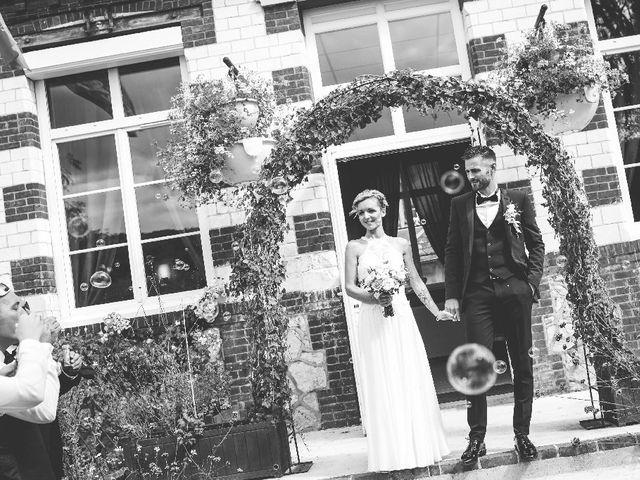 Le mariage de Mika et Elise à Hébécourt, Eure 5