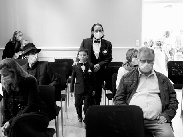 Le mariage de François et Lucie à Dissay, Vienne 9