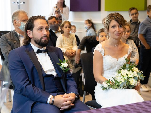 Le mariage de François et Lucie à Dissay, Vienne 11