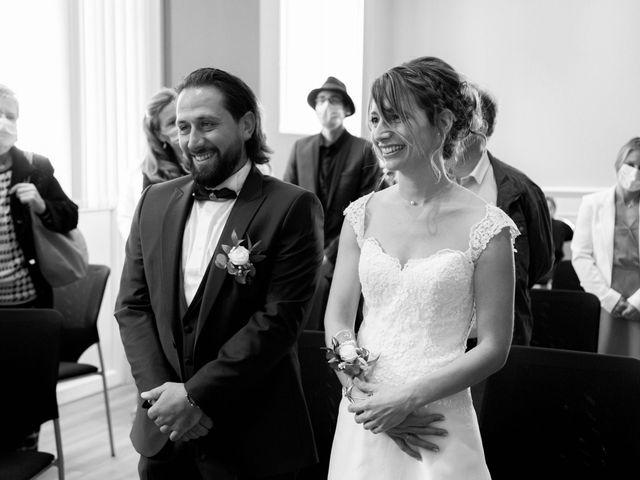 Le mariage de François et Lucie à Dissay, Vienne 14