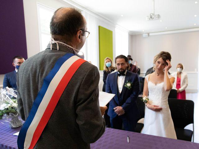 Le mariage de François et Lucie à Dissay, Vienne 15
