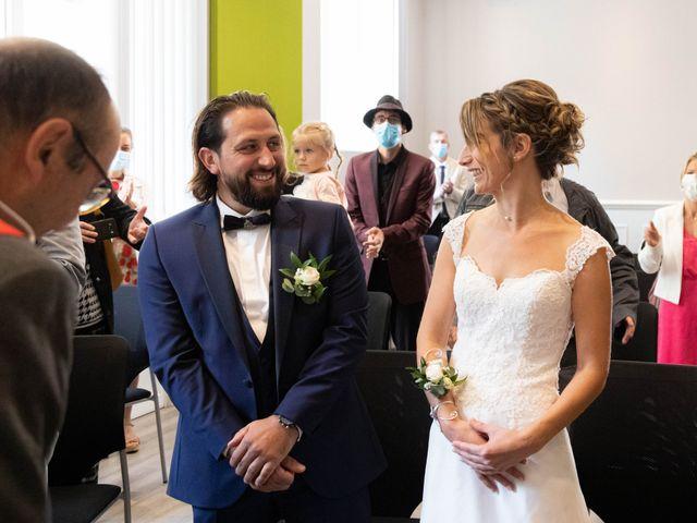 Le mariage de François et Lucie à Dissay, Vienne 16