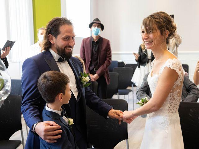 Le mariage de François et Lucie à Dissay, Vienne 23