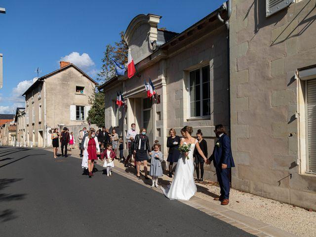 Le mariage de François et Lucie à Dissay, Vienne 26