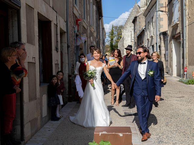 Le mariage de François et Lucie à Dissay, Vienne 27