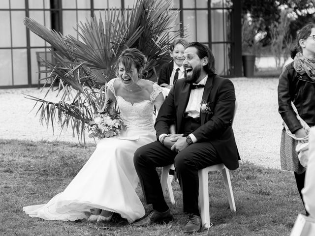 Le mariage de François et Lucie à Dissay, Vienne 44
