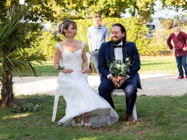 Le mariage de François et Lucie à Dissay, Vienne 47