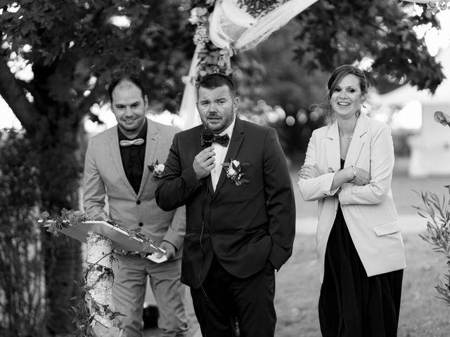 Le mariage de François et Lucie à Dissay, Vienne 52