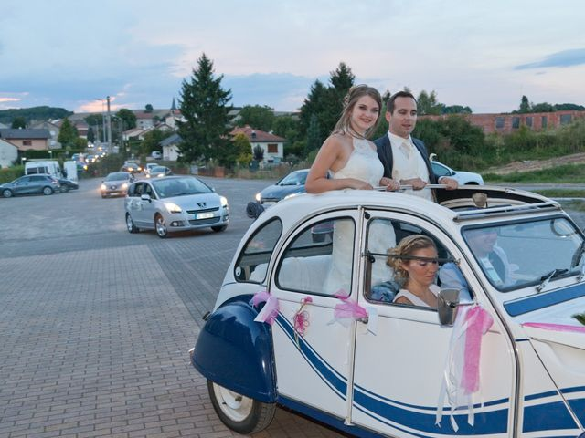 Le mariage de Jérémy et Céline à Veckring, Moselle 35