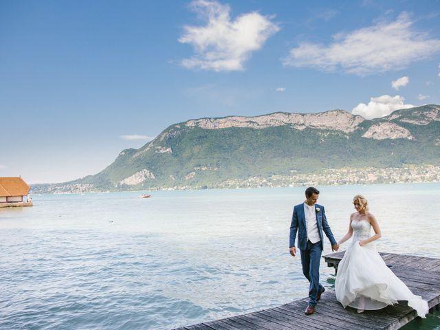 Le mariage de Jean-Huges et Inna à Annecy, Haute-Savoie 35