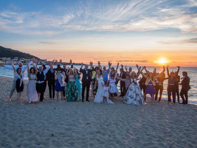 Le mariage de Andrea et Alice à Lumio, Corse 13