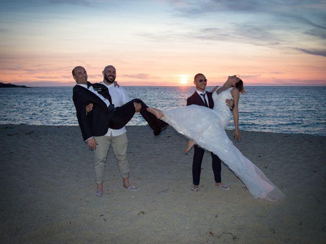 Le mariage de Andrea et Alice à Lumio, Corse 17