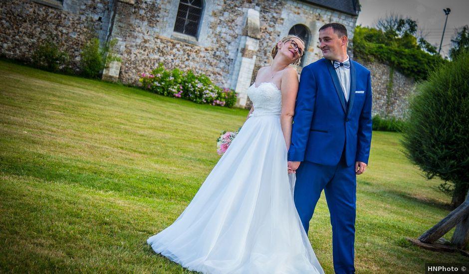 Le mariage de Benjamin et Géraldine à Glos-sur-Risle, Eure