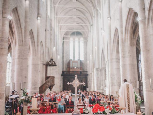 Le mariage de Thibault et Catherine à Montfort-l'Amaury, Yvelines 31