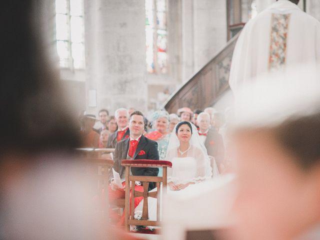 Le mariage de Thibault et Catherine à Montfort-l'Amaury, Yvelines 32