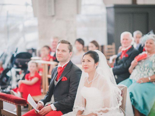 Le mariage de Thibault et Catherine à Montfort-l'Amaury, Yvelines 33