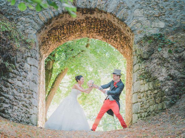 Le mariage de Thibault et Catherine à Montfort-l'Amaury, Yvelines 39