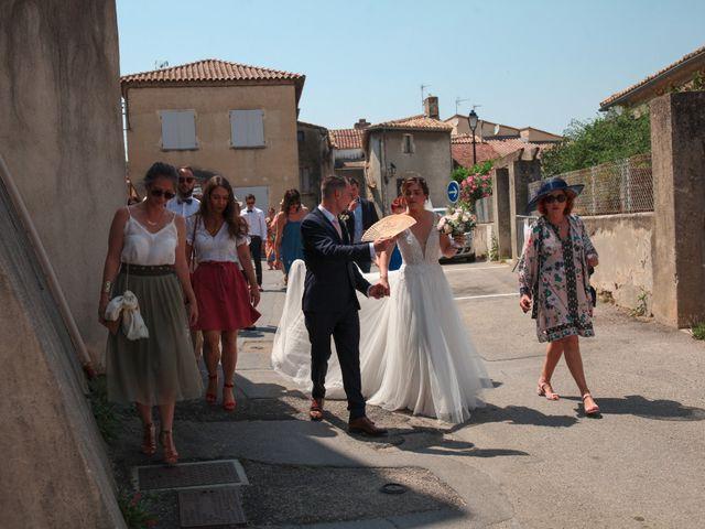 Le mariage de Fabien et Laura à Saze, Gard 38