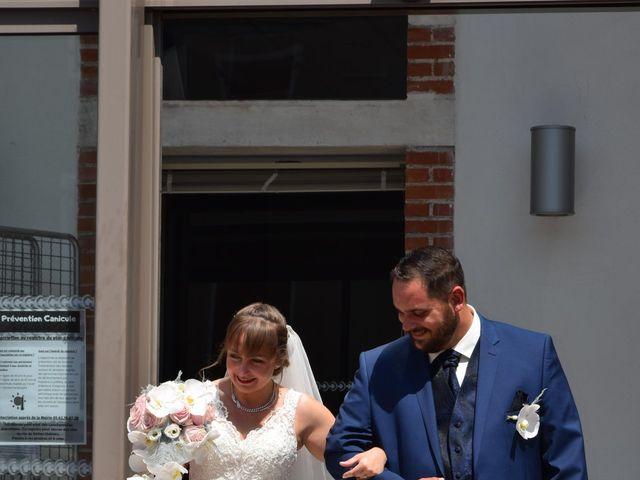 Le mariage de Guillaume et Amélie à Fréjairolles, Tarn 3