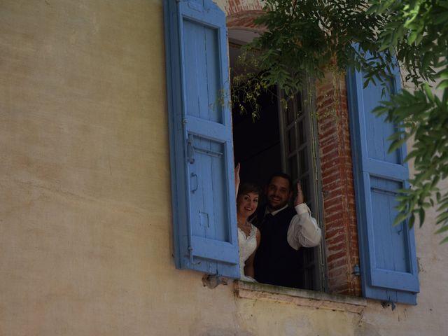 Le mariage de Guillaume et Amélie à Fréjairolles, Tarn 1