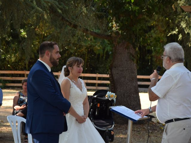 Le mariage de Guillaume et Amélie à Fréjairolles, Tarn 6