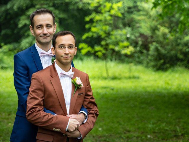 Le mariage de Sébastien et Christophe