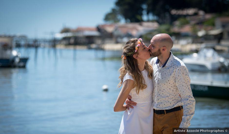 Le mariage de Antoine et Sophie à Le Canon, Gironde