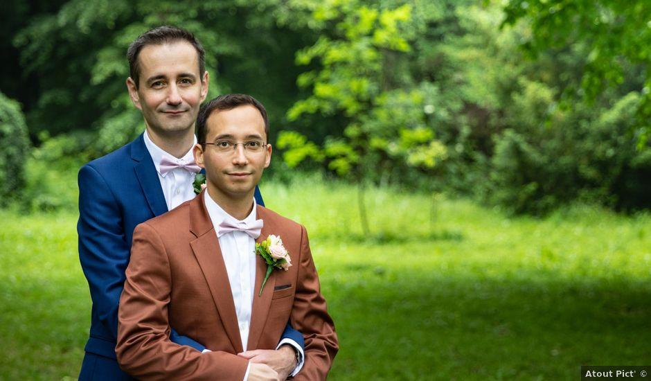 Le mariage de Christophe et Sébastien à Saint-Avertin, Indre-et-Loire