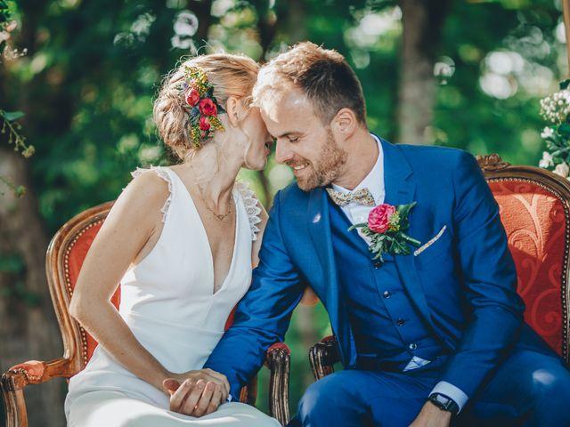 Le mariage de Louis et Lucie à Rimons, Gironde 12