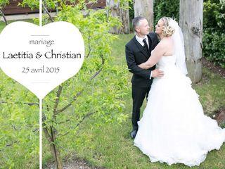 Le mariage de Laetitia et Christian