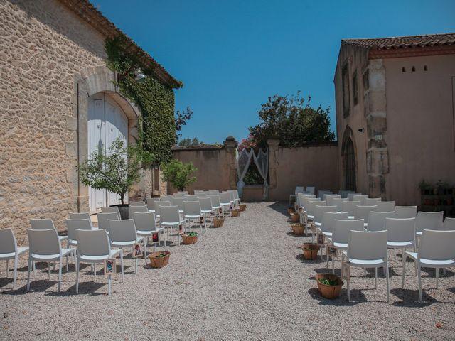 Le mariage de Romain et Mélisande à Restinclières, Hérault 11