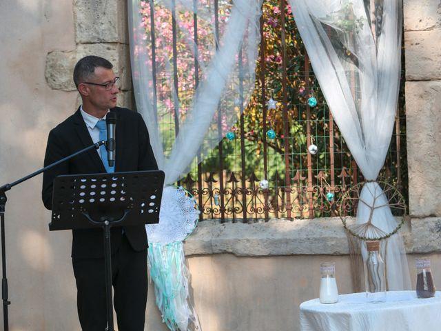 Le mariage de Romain et Mélisande à Restinclières, Hérault 30