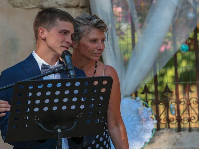 Le mariage de Romain et Mélisande à Restinclières, Hérault 35