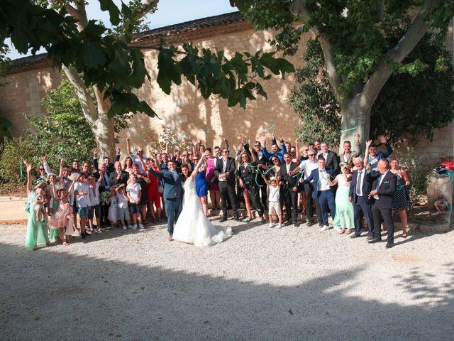 Le mariage de Romain et Mélisande à Restinclières, Hérault 50